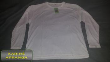 Vyriški balti termo-marškinėliai CoolDry.