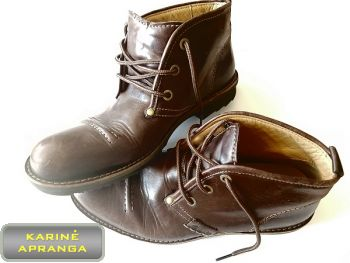 Odiniai Clarks batai. Leather Clarks shoes.