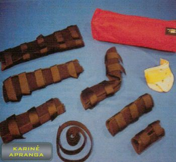 """""""Rescue and Medical"""" įtvarų rinkinys, naujas (Rescue and Medical replacent parts/ Splints, new)"""