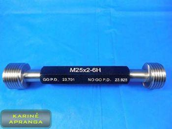 Kištukinis matuoklis Nogo PD. Plug gauge Nogo PD 23.925.