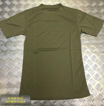 Britų kariuomenės marškinėliai, žalios/ chaki spalvos