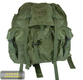 JAV kariuomenės, vidutinio dydžio kuprinė su rėmu ir petnešomis ALICE LC-2 (Medium ALICE Field Pack U.S. military Backpack No Frame or Straps)