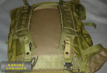 Amerikietiška kuprinė (U.S. Army backpack).