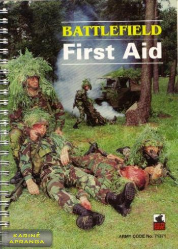 Pirmosios med. pagalbos knyga. (Battlefield First Aid Drills Hardcover)