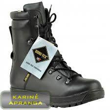 PRABOS su Gore-Tex membrana ir Vibram padu. PRABOS Cold Weather Combat Boots.