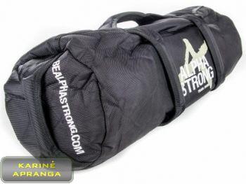 Smėlio maišas sportui ALPHA STRONG. Alpha Strong Sandbags.
