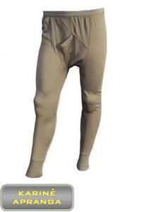 Apatinės šiltos kelnės Johns Drawers Thermal Underwea. Britų kariuomenės.
