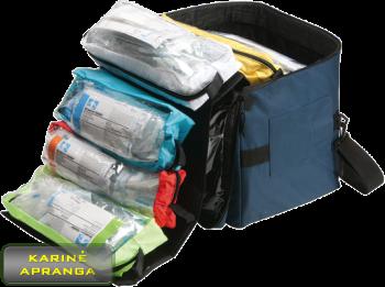 """""""Broselow"""" medicininės pagalbos krepšys, mažai naudotas  (Broselow Pediatric ALS Orginizer, used, Grade 1)"""