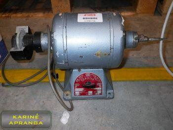 Elektros variklis 3,5 kW (DEROTER John Quayle Dental MFG)