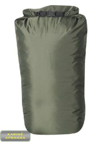Neperšlampamas medžiaginis (iš vidaus gumuotas) krepšys-maišas 60x40 cm (žalias)