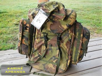 Medicinine kuprinė DPM IRR. Military medical rucksack DPM IRR.