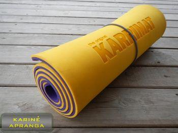 Kilimėlis Karrimat. Sleeping mat Karrimat Yellow.