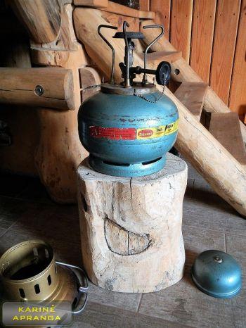 "Lauko viryklė ""Sievert 925"" (Sievert 925 Propane Camp Stove made in Sweden 1964)"