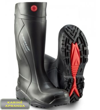 Guminiai batai Dunlop. Dunlop Purofort Plus Professional