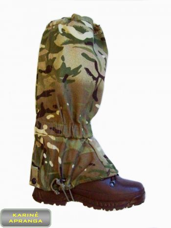 Blauzdinės MTP. Gaiters MTP Army Issue Gore-Tex