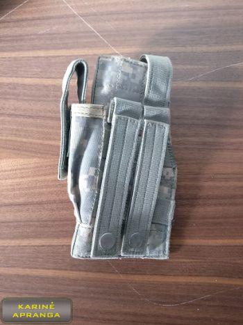 Pistoleto dėklas, skaitmeninio marginimo, naudotas (Tactical Military MOLLE Pistol Holster Digital Camouflage, used, Grade 2)