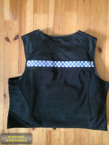 """""""Hawk protection"""" apsauginė liemenė, juoda,  mažai dėvėta (Hawk protection vest, black, used, Grade 1)"""