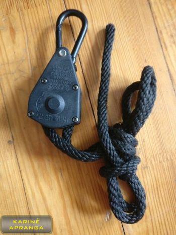 QUICKIE gervė, naudota (Quickie tie-down ¼, used, Grade 2)