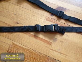 Ginklo diržas, naudotas (Rifle safety belt, used, Grade 2)