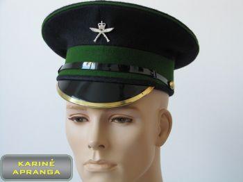 Paradinė kepurė su skiriamuoju ženklu 58 cm (žalia, juoda).