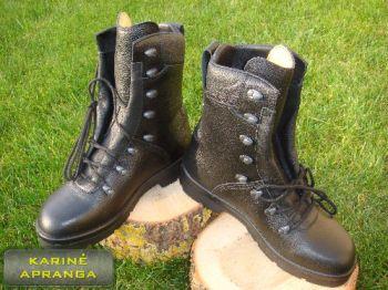 """Juodi vokiečių BW kariuomenės odiniai žieminiai batai """"Haix"""""""