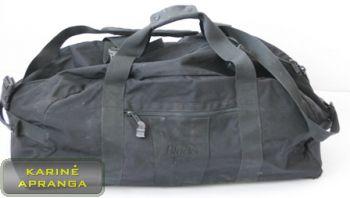 Juodas kelioninis krepšys (dėvėtas)