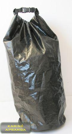 """Neperšlampamas krepšys/maišas (juodas """"TRACPAC)."""