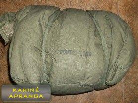 JAV kariuomenės miegmaišis šaltam orui (pūkinis).