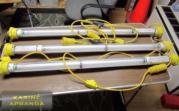 Pakabinamas šviestuvas BASE-X SaftLite (Military Camp Light BASE-X SaftLit)