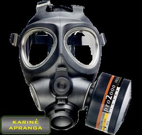 Scott M95 dujokaukė karinė. Scott M95 Gas Mask.
