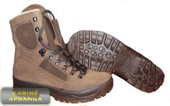 "Taktiniai dykumų batai ""Meindl Desert Fox HL"" rudi."
