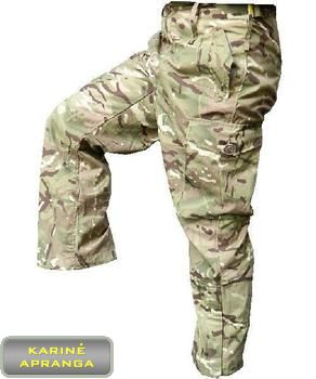 Taktinės kelnės demisezoninės MTP. Trousers Combat windproof MTP.