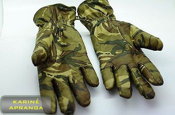 "Šiltos MTP pirštinės Mk 2 su ""Gore-Tex"" (Glove Mk II Combat GL MTP)."