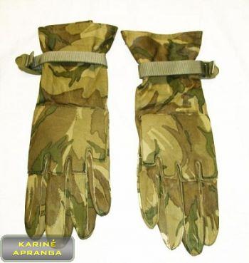Taktinės, tikros odos, MTP marginimo pirštinės. Warm Weather MTP Combat Gloves