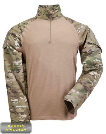 Taktiniai marškiniai MTP Combat Multicam. British MTP Combat Shirt Multicam.