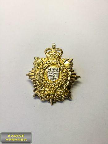 Karališkųju Logistikos pajėgų apykaklės ženklas. Nr.13