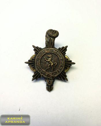 Velso princeses Karališkojo pulko prisegamas ženklas Nr.16