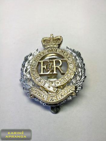 D. Britanijos inžinierių beretės ženklas Nr.18
