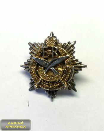 Karalienės Gurkha (Nepalo samdinių) pulko,  transporto Karininko apykaklės ženklas. Nr.28