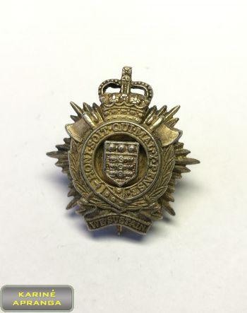 Karališkųju Logistikos pajėgų beretės ženklas. Nr.36