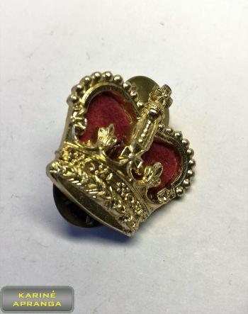 Majoro laipsnio ženklas, Karalienės Viktorijos karūna Nr.38