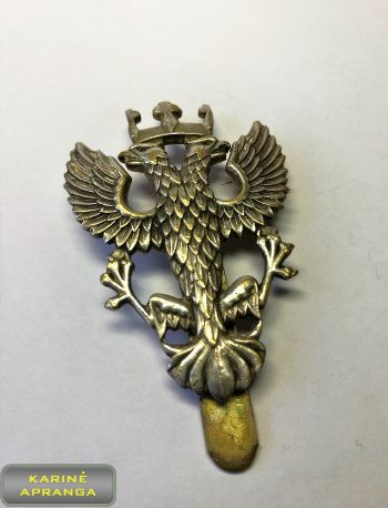 Mercian pėstininkų pulko beretės ženklas Nr.9