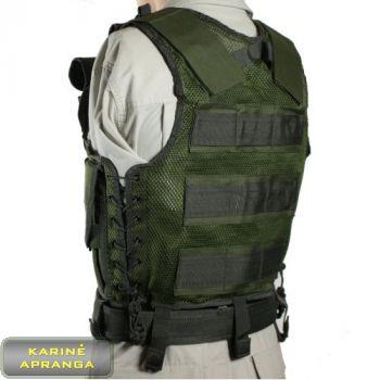"""Viper"" taktinė liemenė, žalios spalvos, nauja (Viper tactical vest, grean)"
