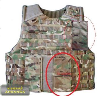 "Osprey Mk4 ""Blank panel"". (komplektas 2 vnt.)"