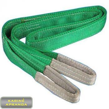 Kėlimo diržas. Polyester Lifting Belt
