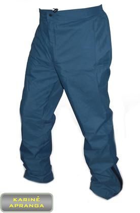 Neperšlampamos kelnės su Gore-Tex, RAF, mėlynos spalvos. RAF Gore-tex Wet Weather Trousers.