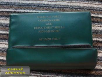 Karališkųjų oro pajėgų atmintinė (Royal Air Force Common Core and Deployment Skills Aide Memoire).