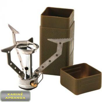 Išlankstoma lauko viryklė. Foldable outdoor cooker Kombat UK.