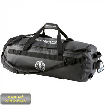 """""""ScubaPro"""" neperšlampamas krepšys, juodos spalvos, naudotas (Scuba Pro Dry Duffel 120 Gear Bag, used, Grade 2)"""