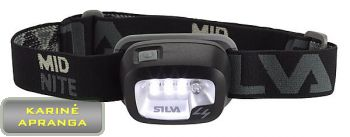 Ciklopas SILVA Mid Nite. (SILVA Mid Nite Duo LED Night Vision Headlight)
